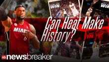 NBA: Heat Streak on Fire