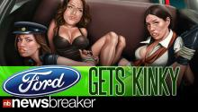 Ford Apologizes For Racy Ad Showing Women Bound, Gagged