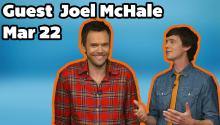 Joel McHale Visits Daily ReHash and Tweets us his