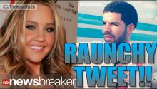 Actress Amanda Bynes' Raunchy Tweet About Rapper Drake