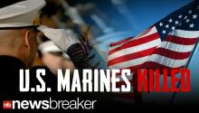 BREAKING: 7 Marines Killed, 7 Injured In Training Exercise On U.S. Military Depot