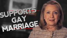 BREAKING: Hillary Clinton: I Support Gay Marriage