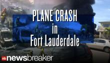 BREAKING: Plane crashes into parking lot, cars in Florida