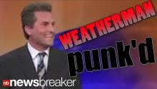 HILARIOUS: Weatherman 'Punk'd' on Live TV
