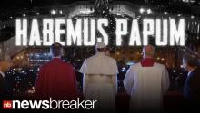 RAW: Crowd Cheering; White Smoke Signals New Pope