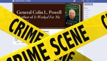 HACKED: Colin Powell's Facebook Page