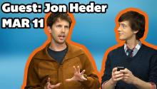 Jon Heder Visits Daily ReHash and Twerks a Tweet