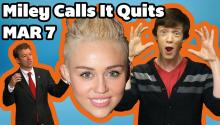 Miley Cyrus Calling It Quits?
