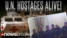 Video Purportedly Shows UN Hostages In Good Condition
