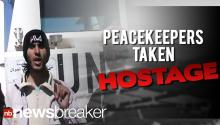 UN Peacekeepers Taken Hostage By Syrian Rebels