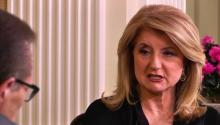 Arianna Huffington criticizes the media & Washington