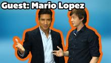 Mario Lopez Visits Daily ReHash and has a Tweet for Simon Cowell