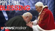 Pope Benedict's Final Blessing
