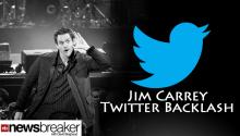 Twitter Backlash for Jim Carrey After 'Catholic' Tweet