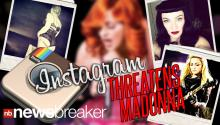Instagram Threatens Madonna Over