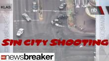 Wild Shooting/Explosion On Las Vegas Strip