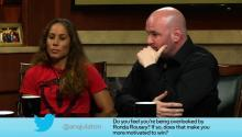 UFC President Dana White and Fighter Liz Caramouche Answer Social Media Questions