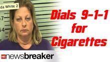 9-1-1 Call For Cigarettes