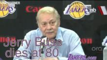 LA Lakers Owner Jerry Buss Dies