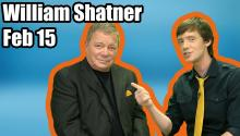 William Shatner Talks Twitter!