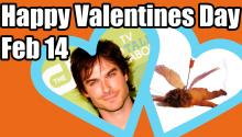 Celebrity Valentine's Wishes & Twitter Match-Making