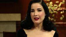 Burlesque Queen Dita Von Teese Discusses Her Love Life and Fashion Inspirations