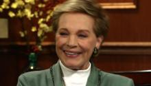 Julie Andrews Talks About Lip Syncing and Beyonce