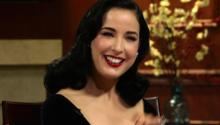 Burlesque Queen Dita Von Teese Answers Social Media Questions