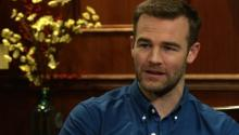 Actor James Van Der Beek Talks About Getting The Title Role On