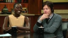 The Walking Dead: Norman Reedus & Danai Gurira