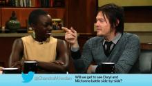 Actors Norman Reedus and Danai Gurira On If Their Characters Will Fight Side-by-Side