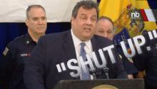 NJ Gov. Chris Christie to Doctor: 'Shut Up'