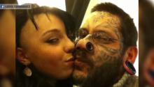Girl's BF tattoos her FACE