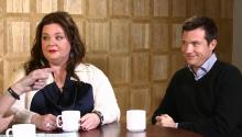 Actress Melissa McCarthy and Larry King Audition for the