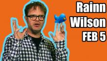 Guest: Rainn Wilson & LeBron's Favorite Cartoon