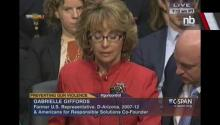 Gabby Giffords Emotional Plea to Senate Committee