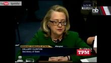 Clinton Chokes Up At Libya Hearing