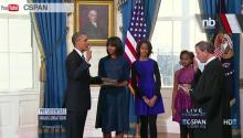 REWIND: Pres. Obama Took Official Oath Sunday