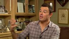 Seth MacFarlane discusses cryonics