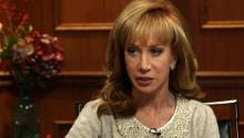 Kathy Griffin Talks About Maria Shriver
