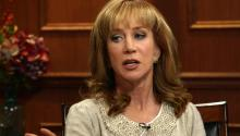 Kathy Griffin Compliments Larry On His Gay Staff