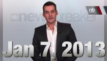 NewsBreaker Headlines for January 7, 2013