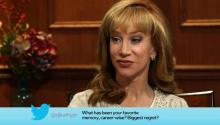 Kathy Griffin Answers Social Media Questions
