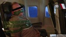 'Drunk' Airline Passenger Taped to Seat