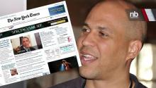 Fighting: Cory Booker Vs. The New York Times