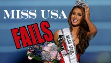 Miss USA 2014 Pageant FAILS