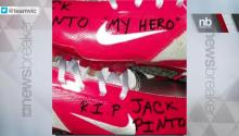 NFL Player Honors Young Sandy Hook Victim
