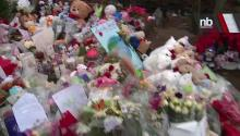 Memorials Pop Up On Newtown Streets