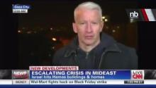 LIVE TV: Anderson Cooper Rocked by Bomb Blast