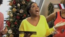 Oprah Tweets Love For Microsoft On Her iPad